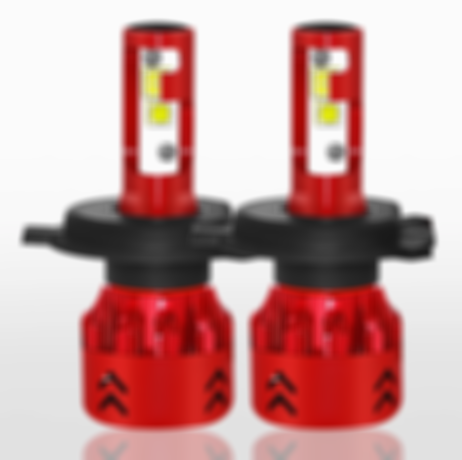 CarFitg™ 2pcs Mini7 H4 / 9003 Led Headlight Bulbs Upgrade