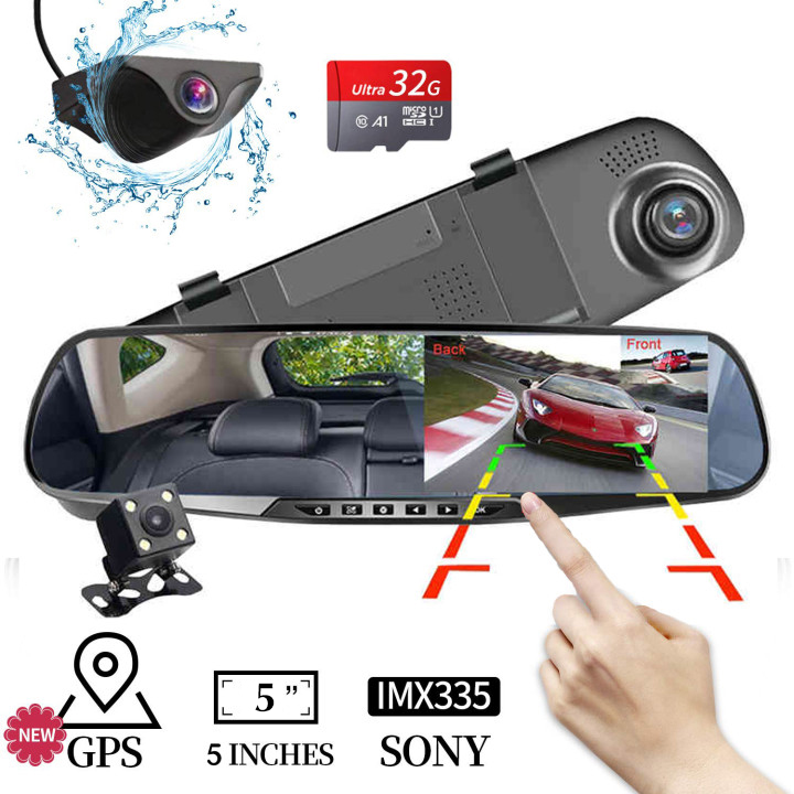 LCD DVR Video Dash Cam Recorder| 1080P FHD CAMERA-Free Shipping +Free 32GB SD Card