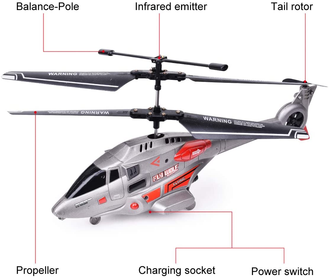 RC 3.5 Channel Mini Helicopter