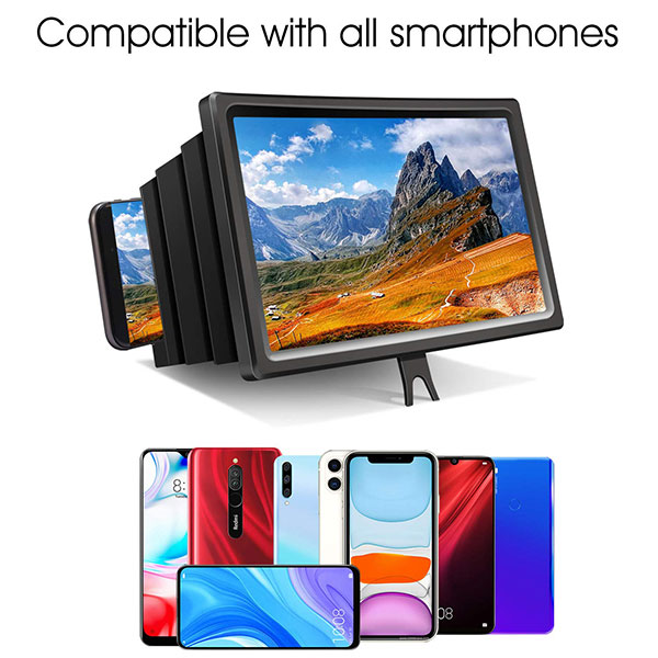 🎁​CHRISTMAS PROMOTIONS 🔥(Buy 2 Get 1 Free) -3d portable universal screen amplifier