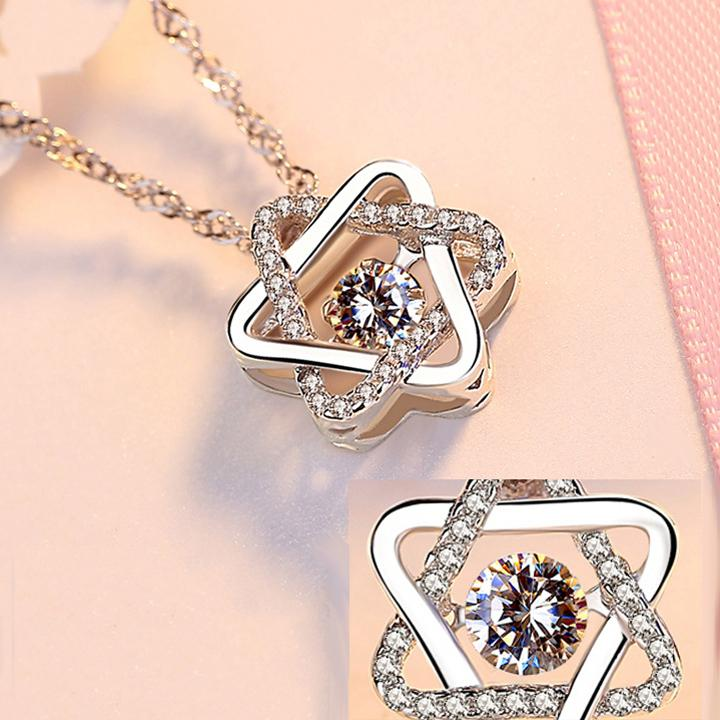 《Dancing Heart💕》 925 Sterling Silver Necklace - BUY 2 FREE SHIPPING