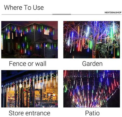 Snow Fall LED Lights | Best Christmas Lights of 2019