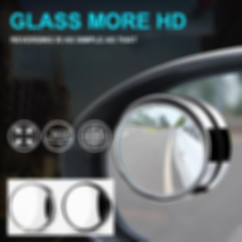 360-degree adjustable wide-angle car rearview mirror(BUY 2 FREE SHIPPING)