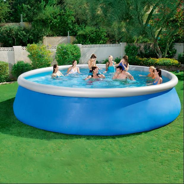 2020 Cool Summer with Air Pump 12ft x 36in Quick Set Inflatable Above Ground Swimming Pools