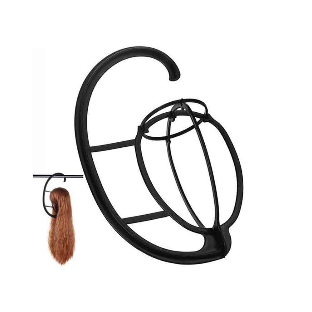 LUNA Portable Plastic Folding Wig Drying Stand