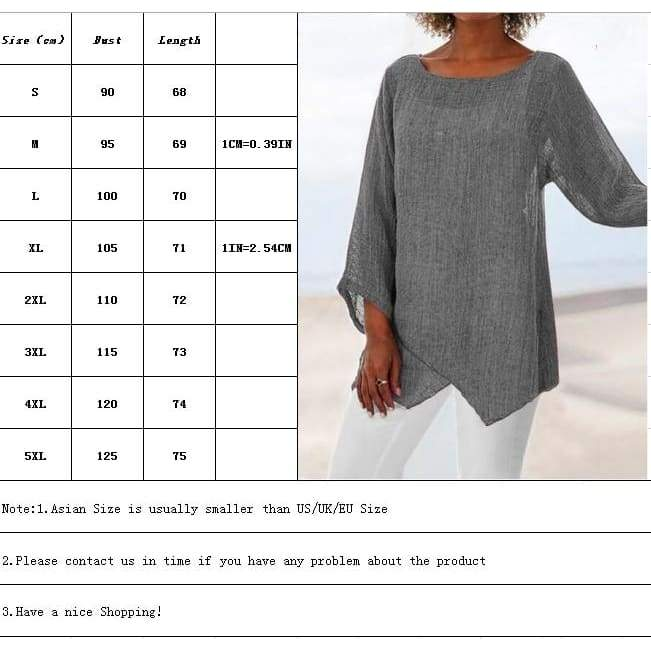 Women Autumn Irregular Hem Long Sleeve T Shirt Ladies Casual Round Neck Plus Size Tops S-5XL