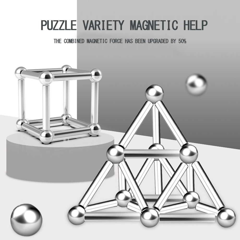 Innovative Buckyballs Metal Sticks Magnetic Constructor Toys for Building Models