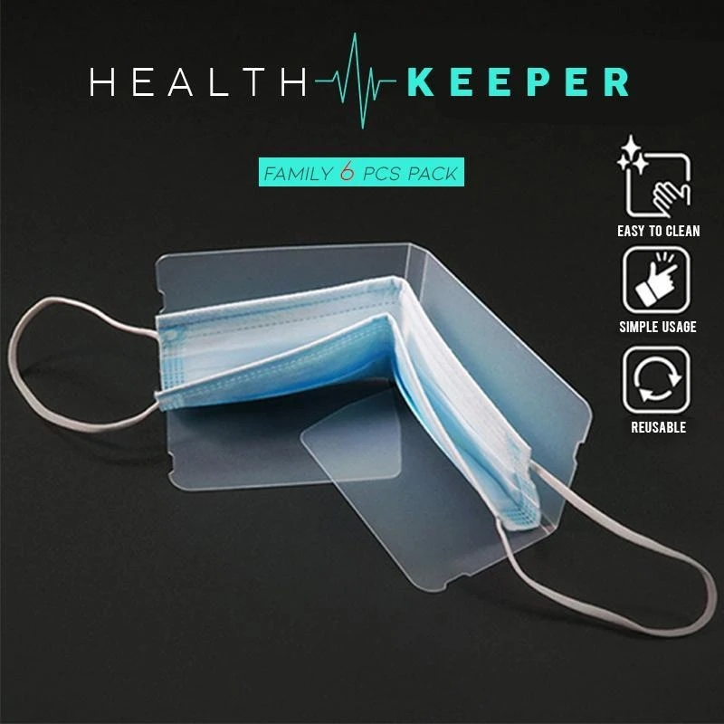 Arosetop Health Keeper for Face Mask (Family 10Pcs Pack)