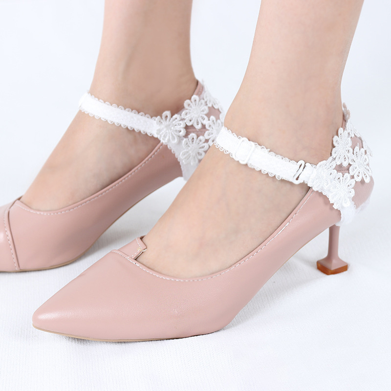 LACE HEEL COVER LACE