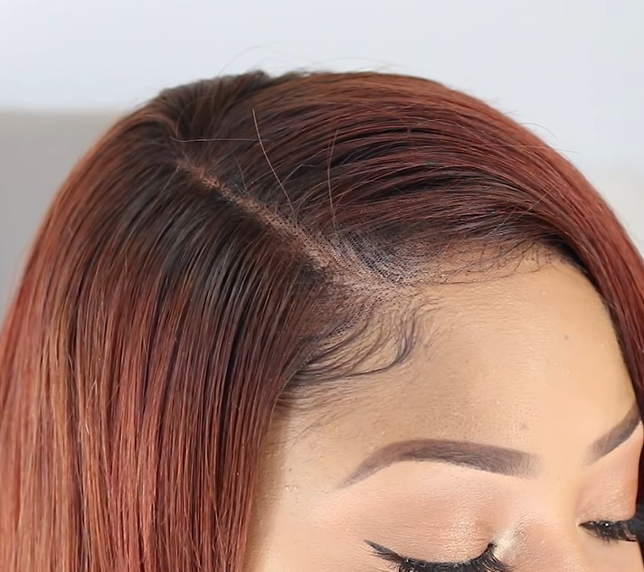 Sexy red  Bob Human Hair Full Lace Wigs