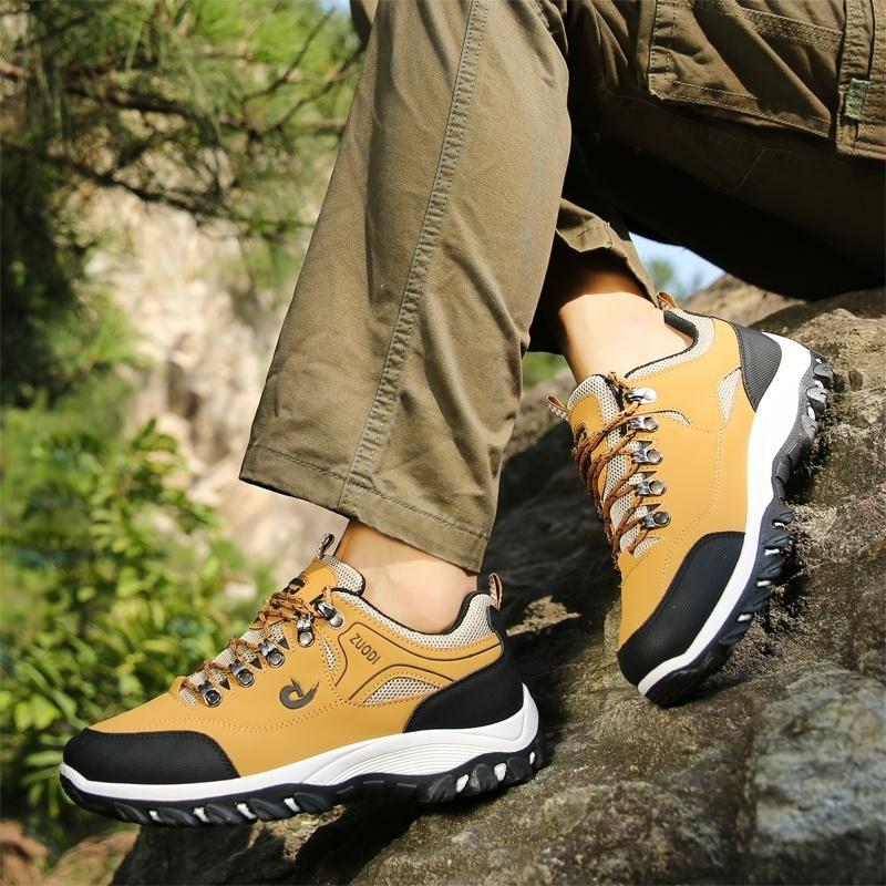 Men Outdoor Shoes Hiking Shoes Work Shoes for Men