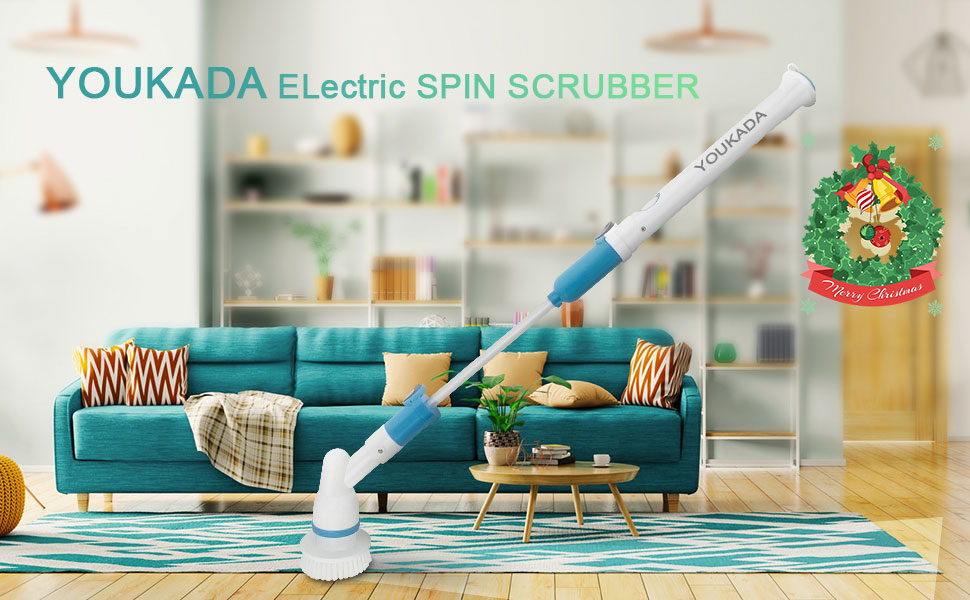 2020 New year 50% OFF--Electric spin scrubber