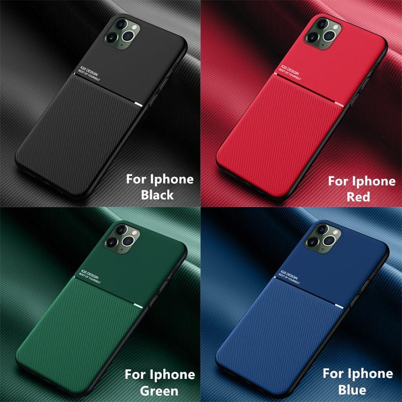 Ultra Thin Car Magnetic Case For iPhone