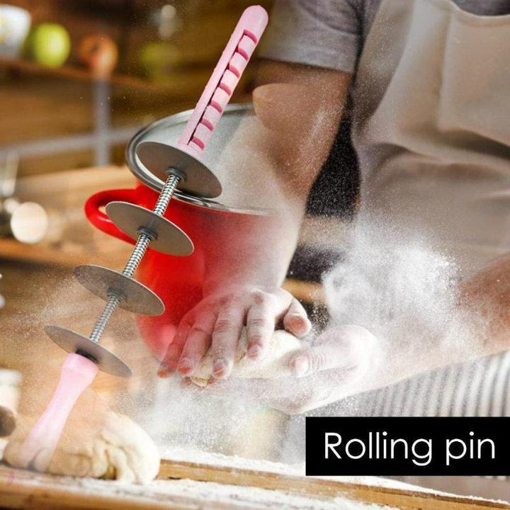 Adjustable Blade Roller Pin & Croissant Cutter🔥Buy 2 FREE SHIPPING