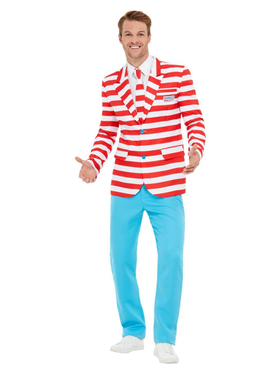 Where's Wally? Suit