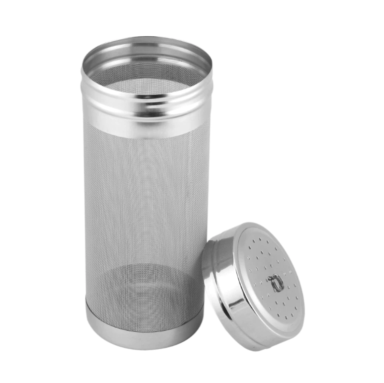 7x18/ 7x29cm 300 Micron Stainless Steel Hop Filter Homebrew Mesh Beer Dry Hopper