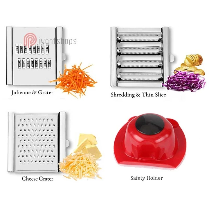 Multi-Purpose Vegetable Slicer Cuts