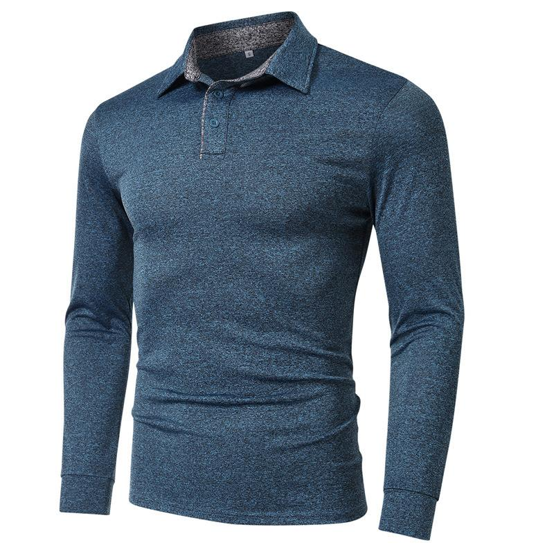 Long Sleeve Golf Shirts For Men Dry Fit