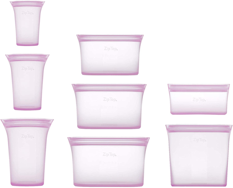 【Hot selling 2000pcs】Reusable Silicone Food Storage Bags - Completely Plastic-Free(Buy more save more!!!)
