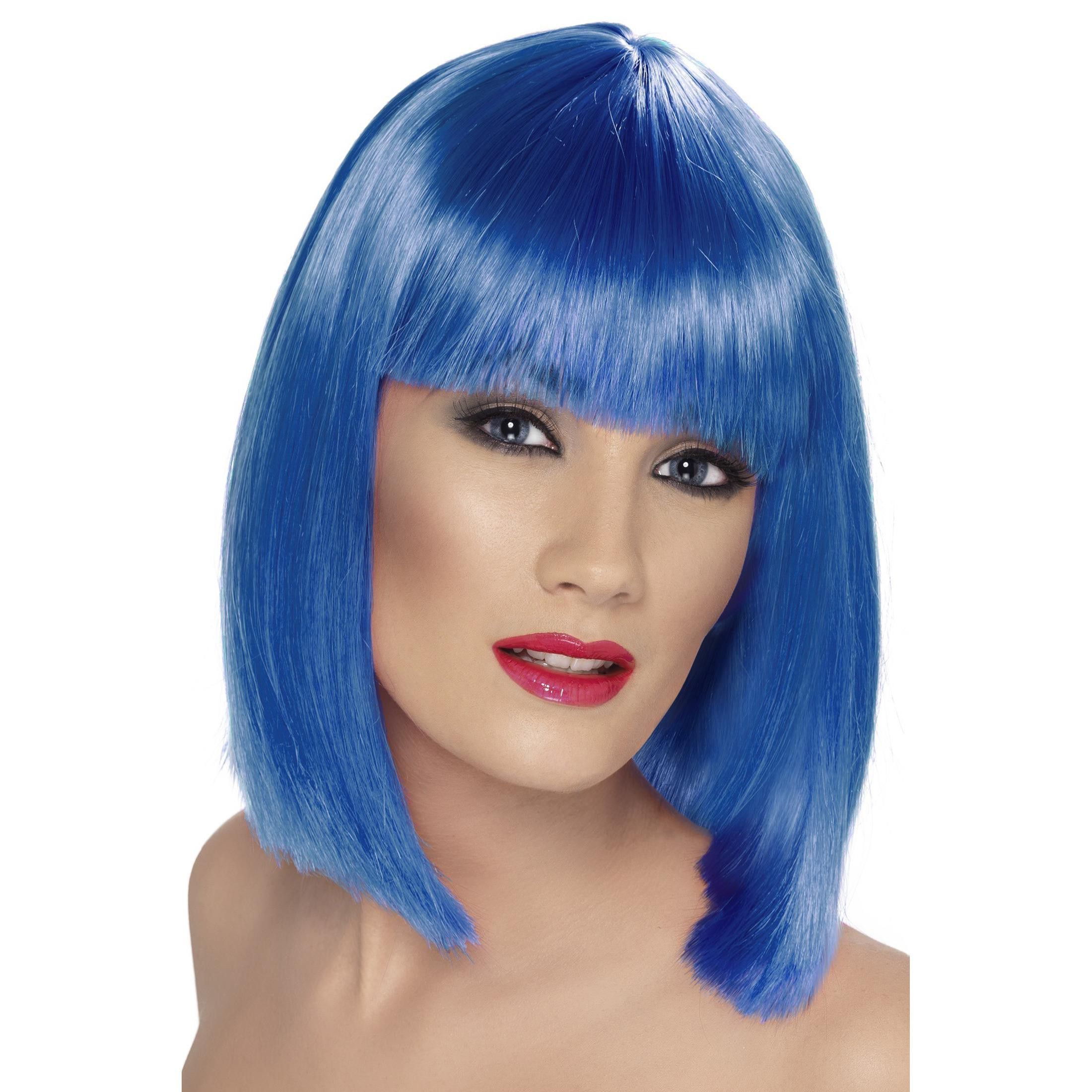 Blue Wigs Lace Frontal Wigs Cheap Human Wigs Light Blue Hair Color Sky Synthetic Wig Sky 010 Best Hair Color For Pale Skin Blue Eyes And Freckles