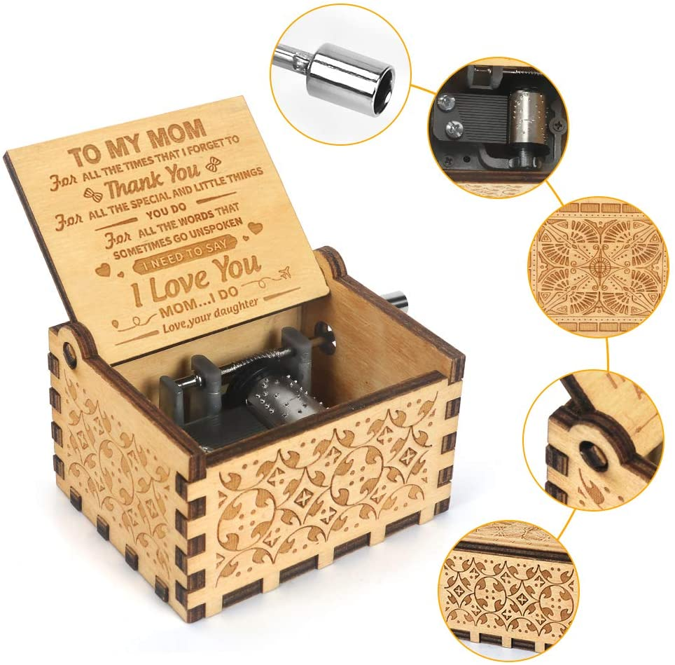 Mothers Day Gift 🎁 Music Box You are My Sunshine