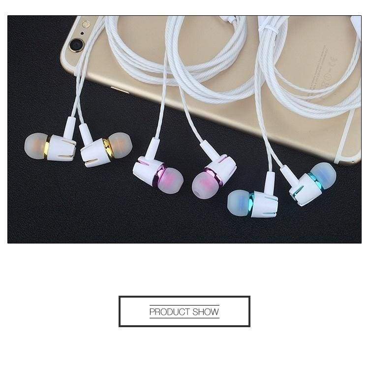 P1 Fashion Earphones 3.5mm with Microphone Headset Stereo Bass Headphones Sport Running Music Earbuds for Cell Mobile Phone Tablet PC Computers MP3 Etc