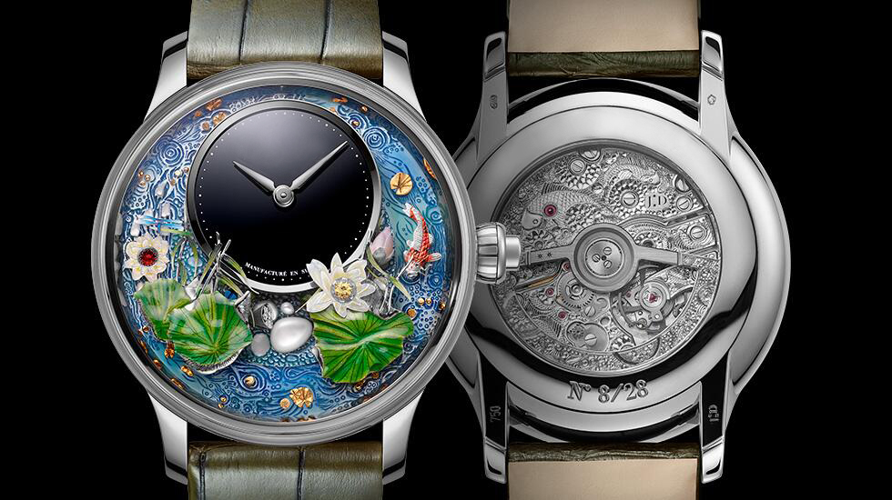 Collector's Edition 3D Dynamic MAGIC LOTUS AUTOMATON Women's Watch