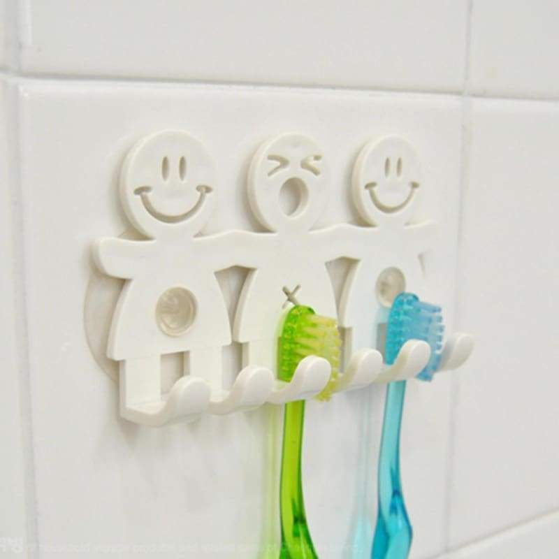 Toothbrush holder stand wall sucker eco-friendly