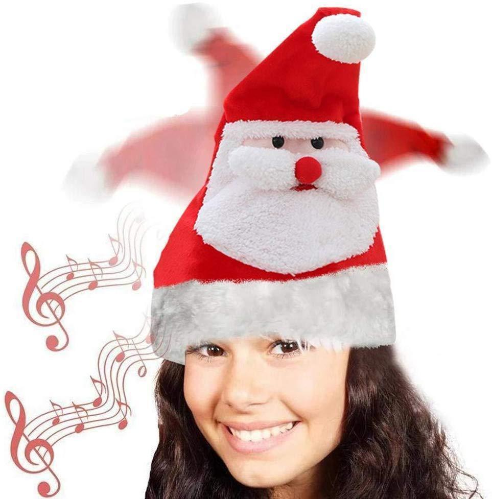Holiday Promotion-Electric christmas hat+Buy 2 Free Shipping