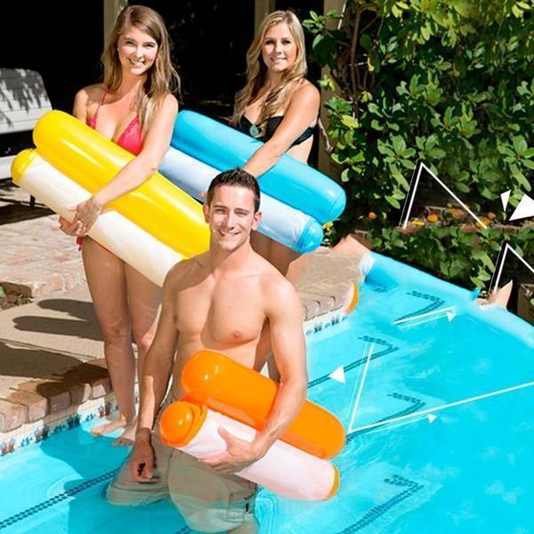 Floating Water Hammock Float Lounger Floating Toys