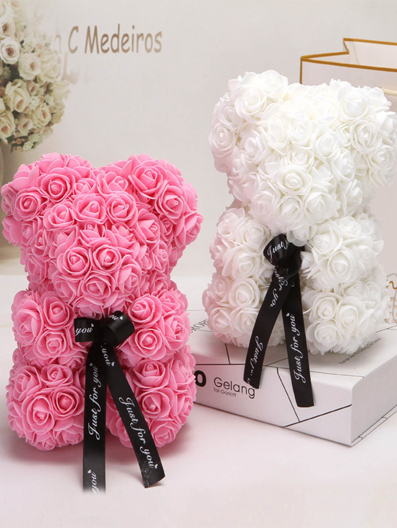 DIY Artificial Rose Flower 144pcs