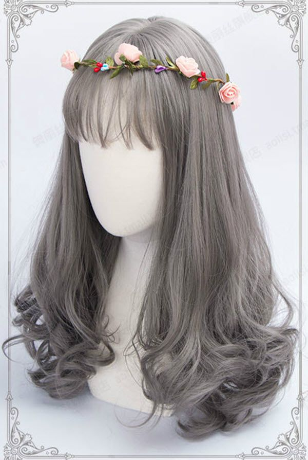 Gray Wigs Natural Hair Line Lace Frontal Wigs Copper And Grey Hair White Hair Wig Short High Quality Human Hair Bundles Growing Out Grey Hair Blonde Deep Wave Bundles