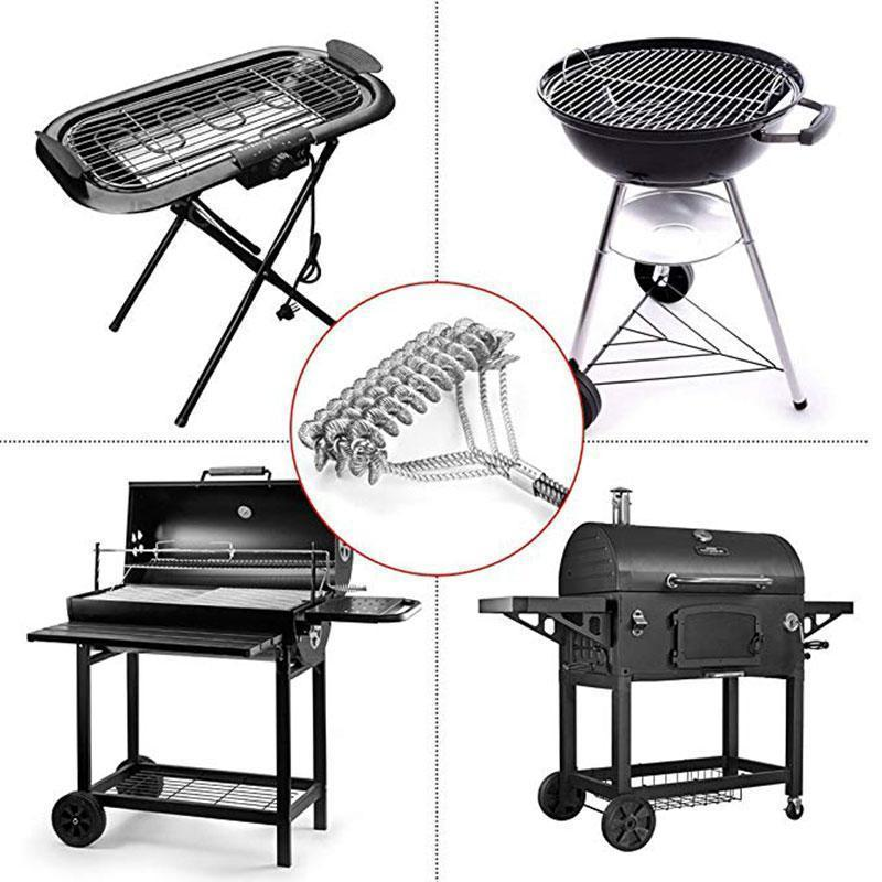 2019 New Grill Cleaner Helix Brush