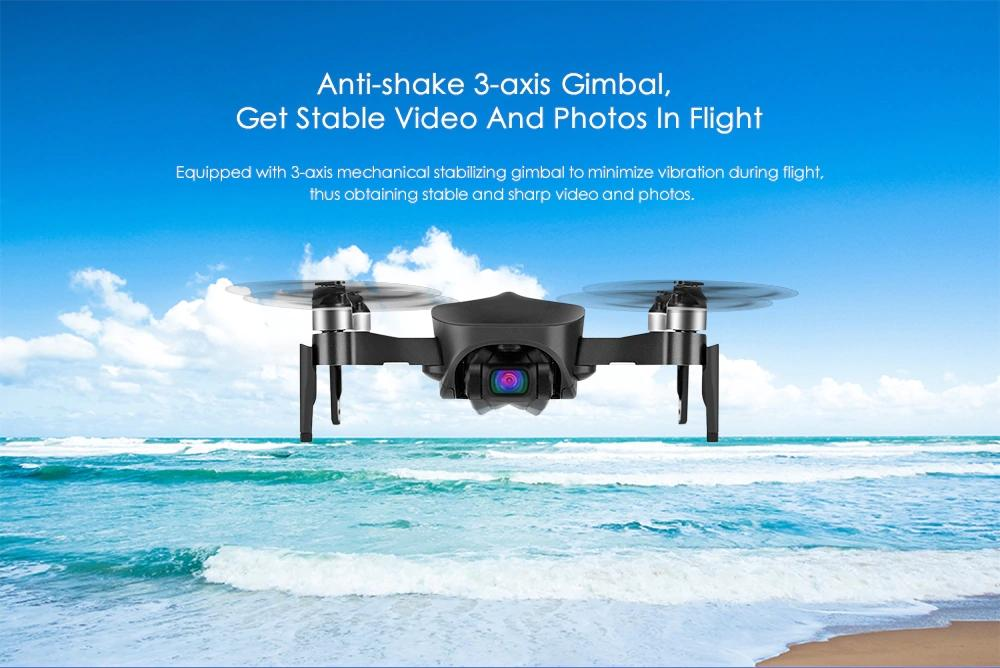 HS12 Anti-shake 3 Axis Gimble GPS WiFi  4K HD Camera Brushless Motor