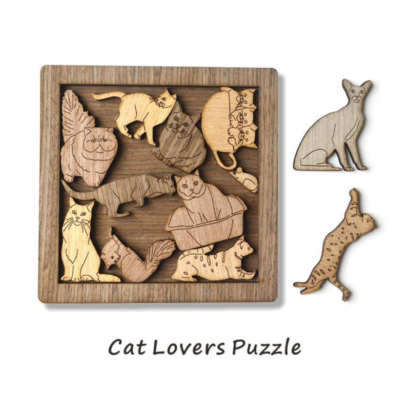 Higomore™ Cat And Mouse Jigsaw Puzzle Game