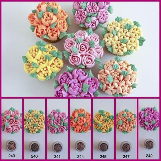 🔥Hot Sale‼--Decorative Multiple Pipe Tip Set - Only 500 pieces