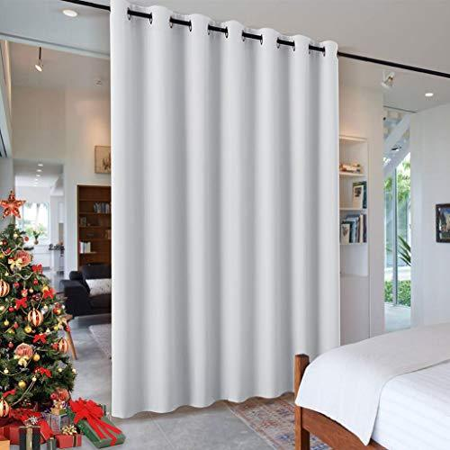 RYB HOME Room Divider for Space, Furniture Protect Ceiling to Floor Blackout Cur