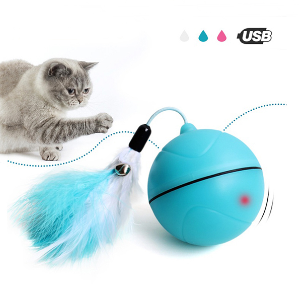 Pet toy LED flash rolling ball