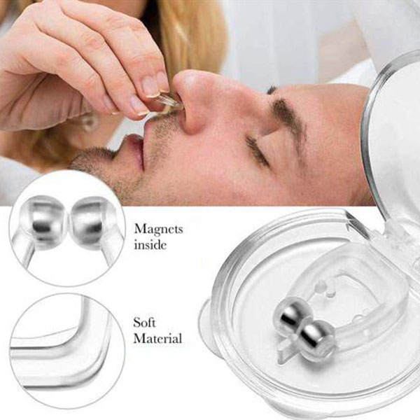 magnetic anti-snoring nose clip-two sets