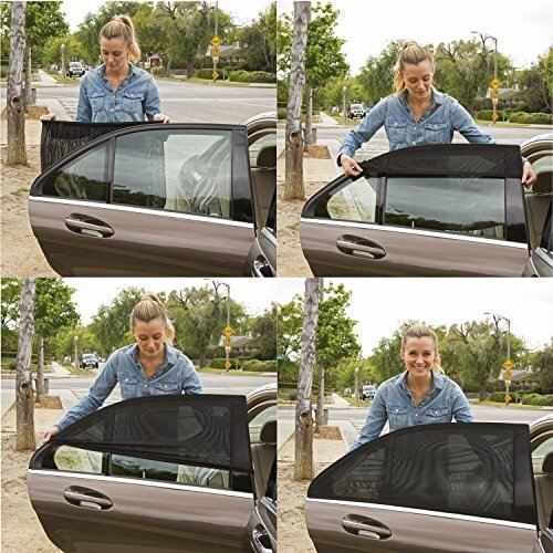🌞[Summer Essentials]Universal Car Window Screens -Protect and Cool Your Vehicle