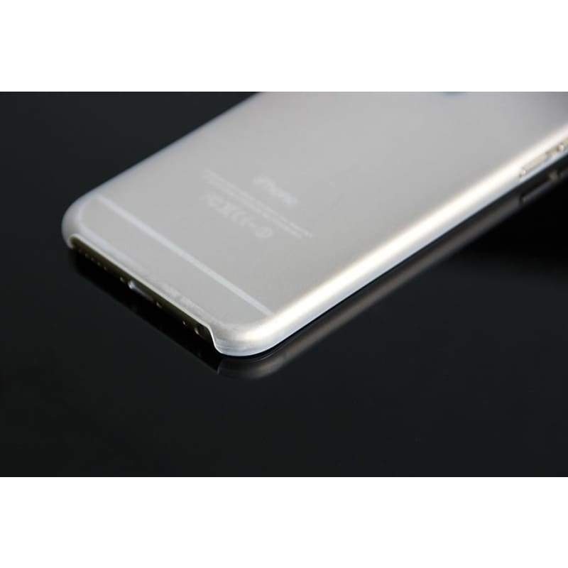 1pcs Matte PC Transparent Ultra-thin 0.3mm Back Case For iPhone 6 Protective Cover Skin Shell for Apple iPhone 6 plus