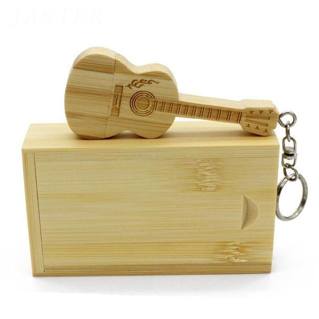 Wooden Guitar Flash Drive (Free Shipping $ 29.99)