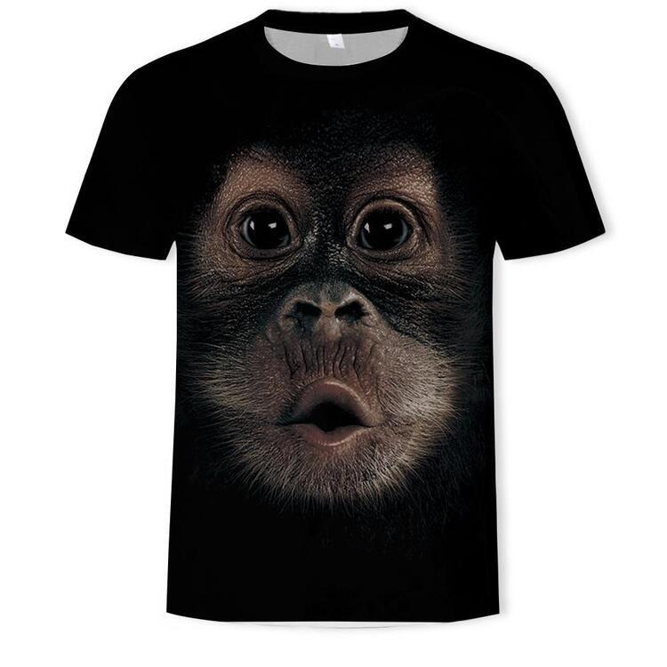 💥Early Summer Hot Sale 50% OFF💥  Funny Monkey T-Shirt Awesome Gift For Adults And Kids