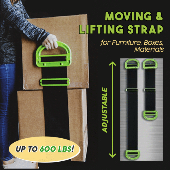 Moving & Lifting Straps--BUY 2 GET FREE SHIPPING