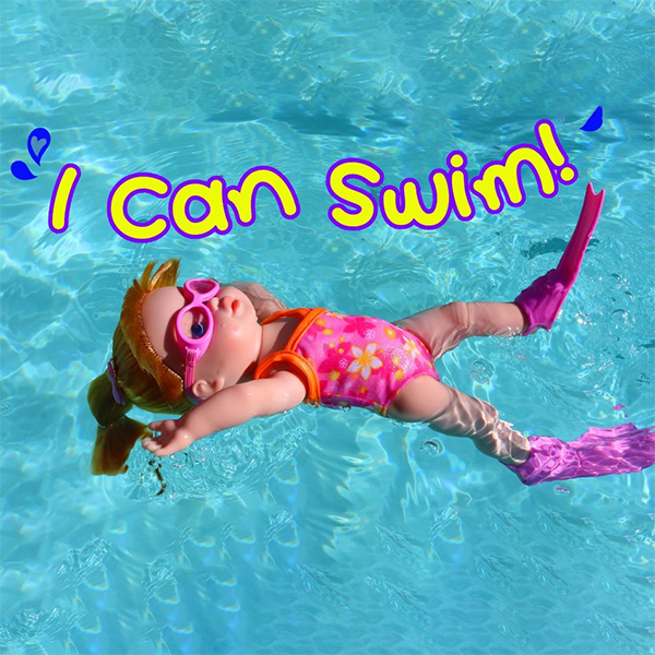 50%OFF Today-Electric Waterproof Swimming Doll(Buy 2 Free Shipping)
