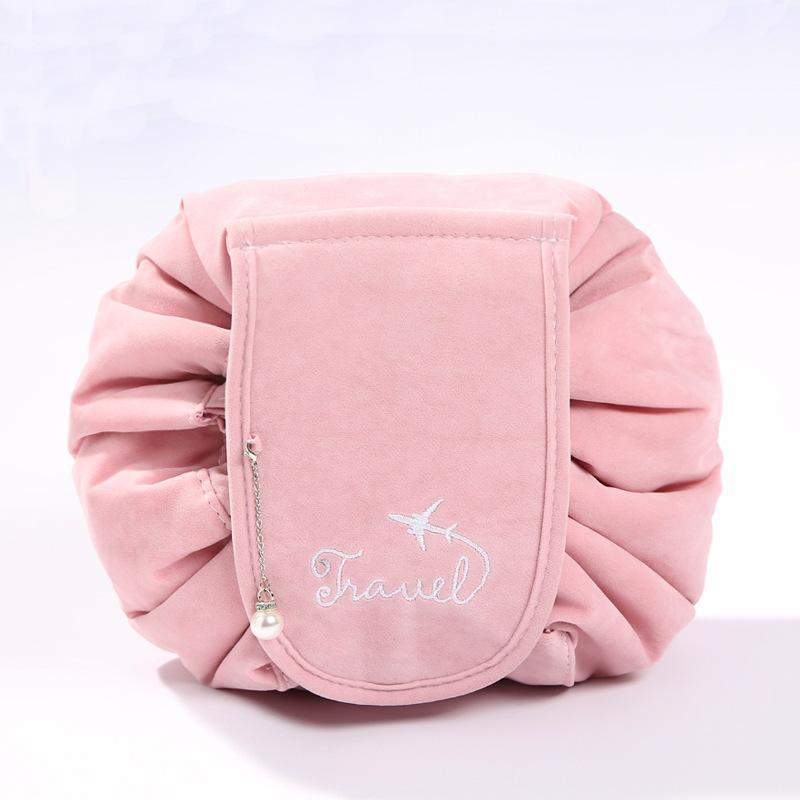 (Hot selling 3,000 items )Flannel  Quick Makeup Bag