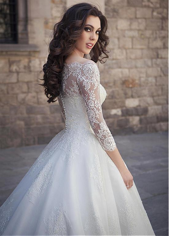 Fashion And Beautiful Knee Length Wedding Dress For Girl