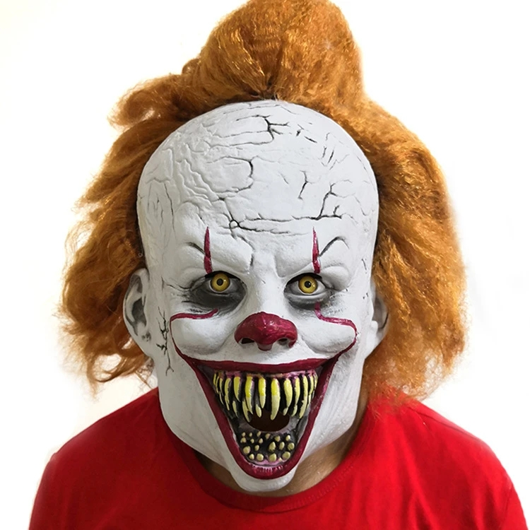 IT Movie Pennywise Crazy Adult Mask