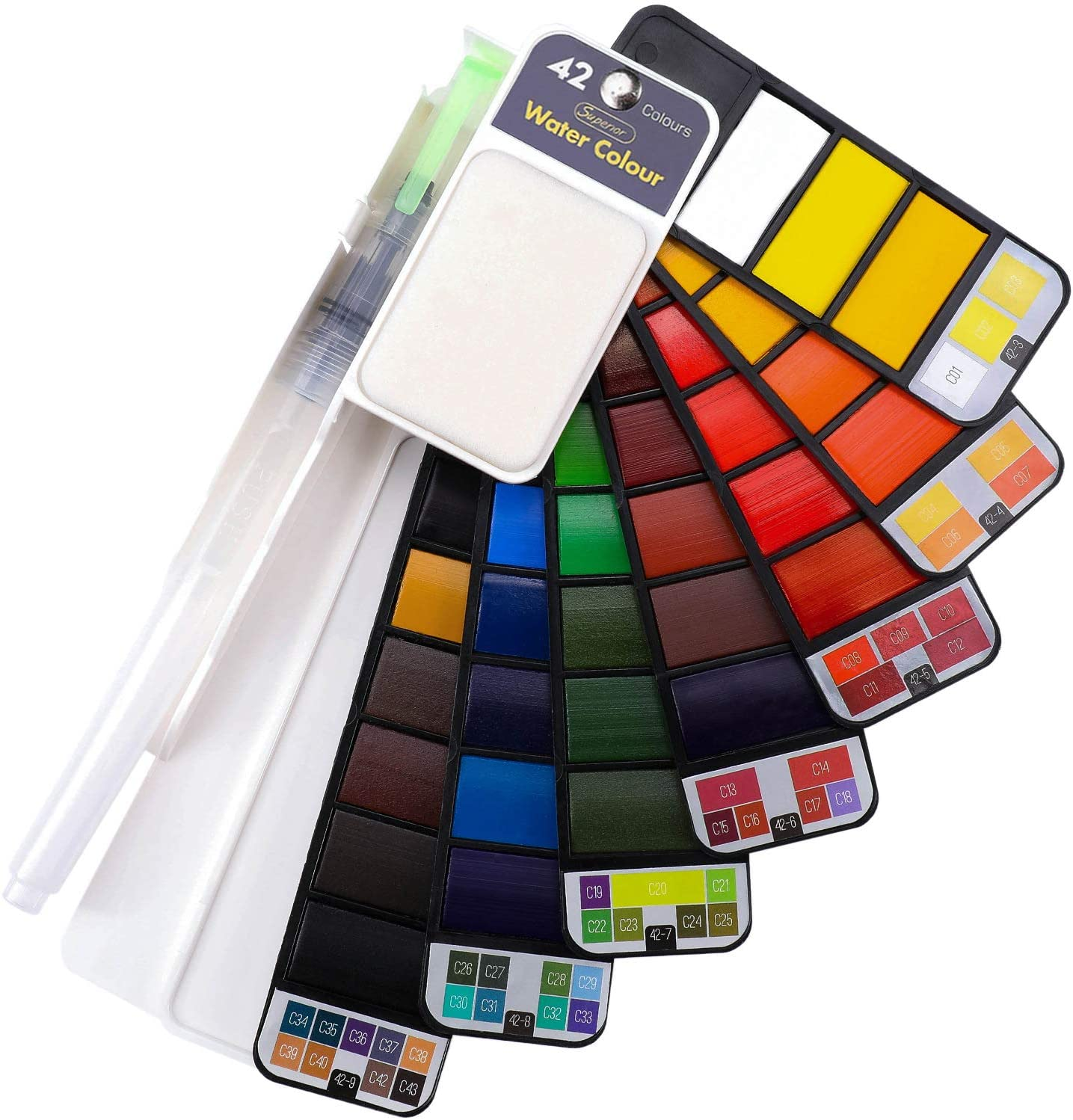 🔥 [Last Promotion 50% OFF] -  Portable Watercolor Kits