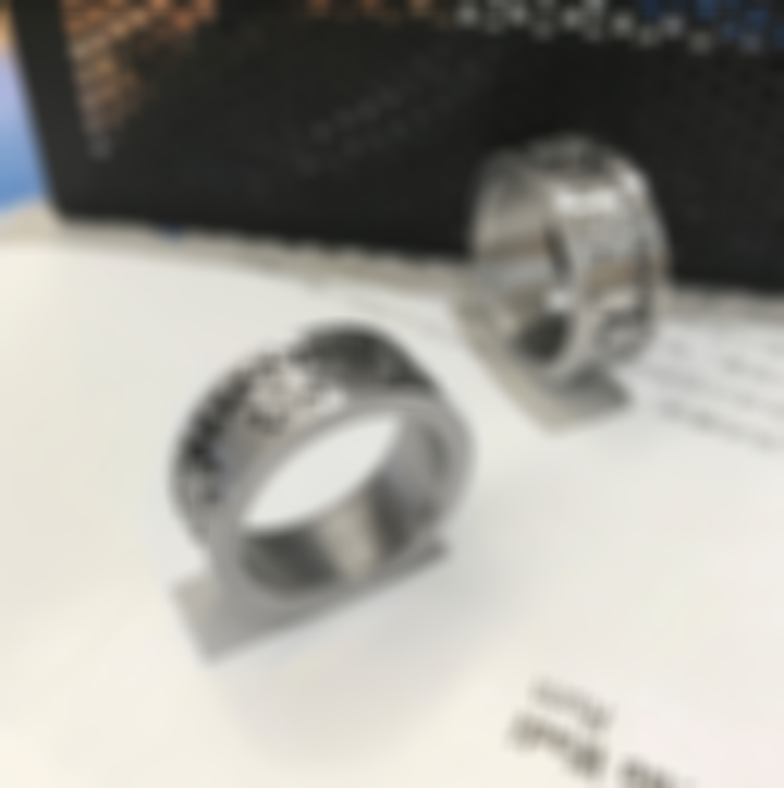 Titanium Steel Gear Ring, Keep Spinning And Release Stress!